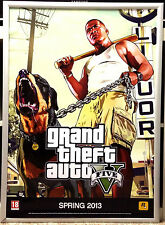 Grand Theft Auto 5 GTA 5 RARE XBOX ONE PS4 60cm x 85cm Promo Poster #1