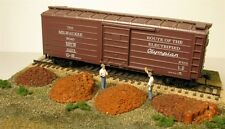 Monroe Models HO Scale Trains Scenery 2107 Railroad Tie Plate Piles Four Pack
