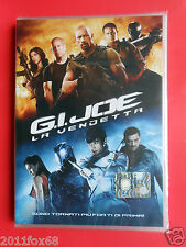 film dvd's movie g.i. joe la vendetta bruce willis dwayne johnson channing tatum