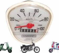 LAMBRETTA CENTO J RANGE SPEEDOMETER 100 KM HR VEGLIA ITALIAN THREADED @AEs