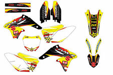 Suzuki RMZ250 10-16 graphic kit 2010 to 2016 decal graphic kit pegatina stickers