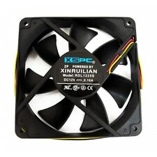 XSPC 120mm x 25mm Fan, 1650 RPM, Great Static Pressure, Ideal for Radiator Use