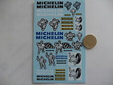 decals decalcomanie ancien dessin michelin 1/18