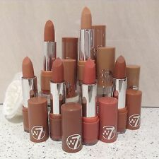W7 MAKEUP THE NUDES Fashion Lipstick , Set OF 6 Natural Nudes Shade Lipsticks