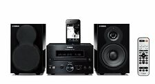 Yamaha Hi-Fi System with CD Player, AM/FM Radio & iPod Dock - MCR-332BL