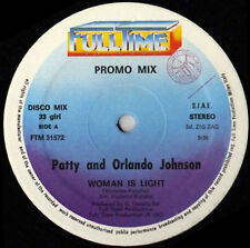 PATTY & ORLANDO JOHNSON / GARY NUMAN - Woman Is Light / My Dying Machine