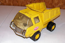 """Vintage Tonka USA Dump Truck Pressed Stamped Metal Construction Toy Old 8"""" 9"""""""