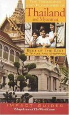The Treasures and Pleasures of Thailand and Myanmar: Best of the Best -ExLibrary