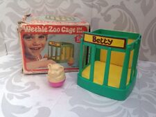 Vintage Retro Boxed 1970'S Airfix Weebles Zoo Cage Toy Betty the Bear