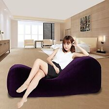 High plush fabric sex sofa sex for couples inflatable adult sex furniture + pump
