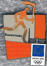 Rare 2004 Athens Istanbul Pictogram Olympic International Torch Relay Pin