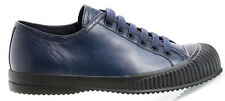 PRADA Calfskin Runway Sneakers 38.5 IT; 8.5 US Oversized Toe Box SOFT Free Ship