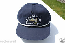 Ball Cap Hat - Ritchie Bros. 1990 Fishing Trip Equipment Auction Salmon (H1089)