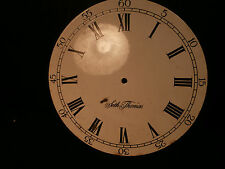 "ANTIQUE SETH THOMAS LARGE 10"" PORCELAIN CLOCK DIAL FOR PARTS"