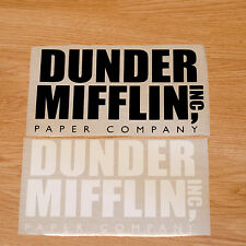 Dunder Mifflin Inc Sticker funny Paper company Decal office Car bumper window TV