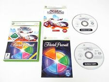XBOX 360 BURNOUT PARADISE THE ULTIMATE BOX AND TRIVIAL PURSUIT KIDS GAME BUNDLE