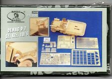 ROYAL MODEL  269 - DEMAG D7 Sd.Kfz.10/5 - 1/35 RESIN KIT