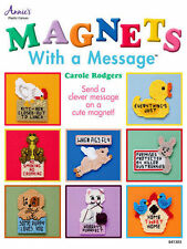 Magnets With a Message Plastic Canvas Patterns Designs Refrigerator Animals Frog