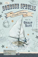 Nostalgic For Someone Special Have A Great Day Male Happy Birthday Card