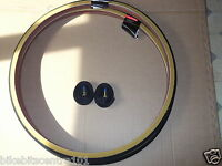 Pair 27 x 1 1/4 Raleigh Amber Wall Tyres & Tubes Road Traditional Bike RRP£43.96
