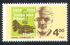 Mexico 1981 Edison/Inventors/Inventions/Gramophone/Music/People 1v (n39934)