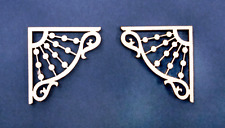 1:24 Scale Dollhouse Miniature Victorian Brackets