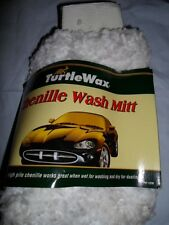 TURTLE WAX CHENILLE WASH MITT CLOTH MOP CAR AUTO DETAILING NEW - OTHER