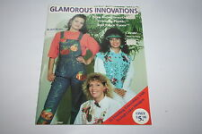 Glamorous Innovations Iron-ons, Friendly Plastic, Jones Tones Project Booklet
