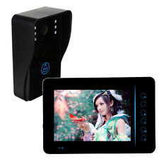 "7"" TFT Touch Wireless Video Door Phone Intercom Doorbell IR Camera Night Vision"