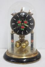 Med Size Haller anniversary clock/ 400 day./torsion clock./dome clock