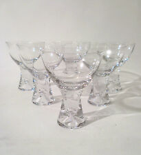 "50s Iittala 6x champagne verre ""tapio"" t. wirkkala Champagne Cup Glass trouvé ANNEES 50"