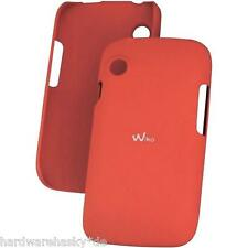 WIKO Backcover Schutzhülle Passend für Wiko Ozzy rot, Clip Slim, red