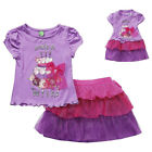 """Dollie & Me 4-10 gril & 18"""" doll matching outfit fit american girl birthday"""