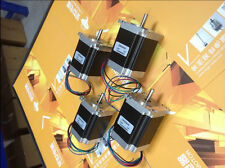 【German Ship】4 pcs Nema 23 stepper motor 270 oz.in=1.9NM ,3A 23HS8430 bipolar
