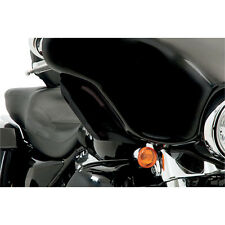 Memphis Shades Black Side Deflectors Wind for 1996-2013 Harley Touring