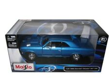 Maisto 1966 Chevrolet Chevelle SS 396 BLUE 1/24 Diecast Car Model 31960BL