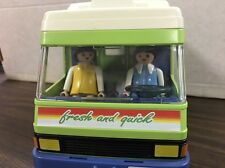 Playmobil Food Service Fresh And Quick Grocery Truck Van