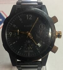 Electric California FW02  Mens Watch  Black and Copper tone Chronograph