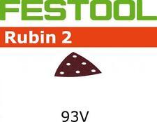10 x Festool StickFix Rubin Sandpaper V93/6 P50 - 496012