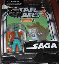 """Hasbro  STAR   WARS   GREEDO   SAGA  COLLECTION  33/4"""" Action  Figure  yr2006"""
