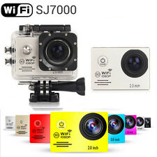 Sliver SJ7000 12MP Full HD 1080P 2.0 Inch WiFi Sport Helmet Cam Camera as gopro