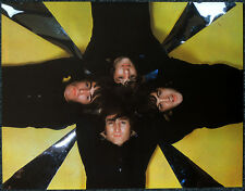 THE BEATLES POSTER PAGE . GROUP PORTRAIT . JOHN LENNON GEORGE HARRISON . V1