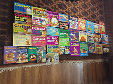 Lot of 37 books comic books Gartfield by Jim Davis new and used; SUPER!!!!
