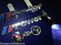 Front Grill+ Rear Boot Badge BMW M Sport  keyring+M Power Tyre Caps and torch