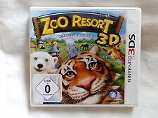 Nintendo 3DS - Zoo Resort 3D - USK 0 - Ubisoft - mit Heft komplett!