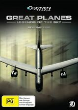 Great Planes - Legends Of The Sky : Vol 1 (DVD, 2011, 2-Disc Set)
