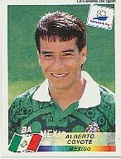N°363 ALBERTO COYOTE MEXICO PANINI WORLD CUP 1998 STICKER VIGNETTE 98