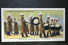 Royal Marines Band Funeral March 1930's Vintage Colour Card VGC