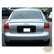 PAINTED REAR TRUNK BOOT LIP SPOILER FOR Audi A6 C5 1997-2004 Sedan