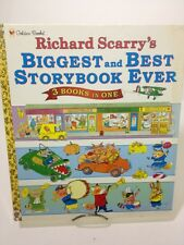 Richard Scarry's Biggest and Best Storybook Ever by Richard Scarry (1998,...